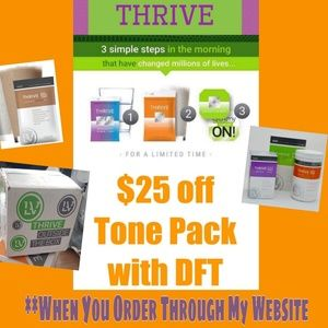 $25 OFF One Month Of Thrive!!